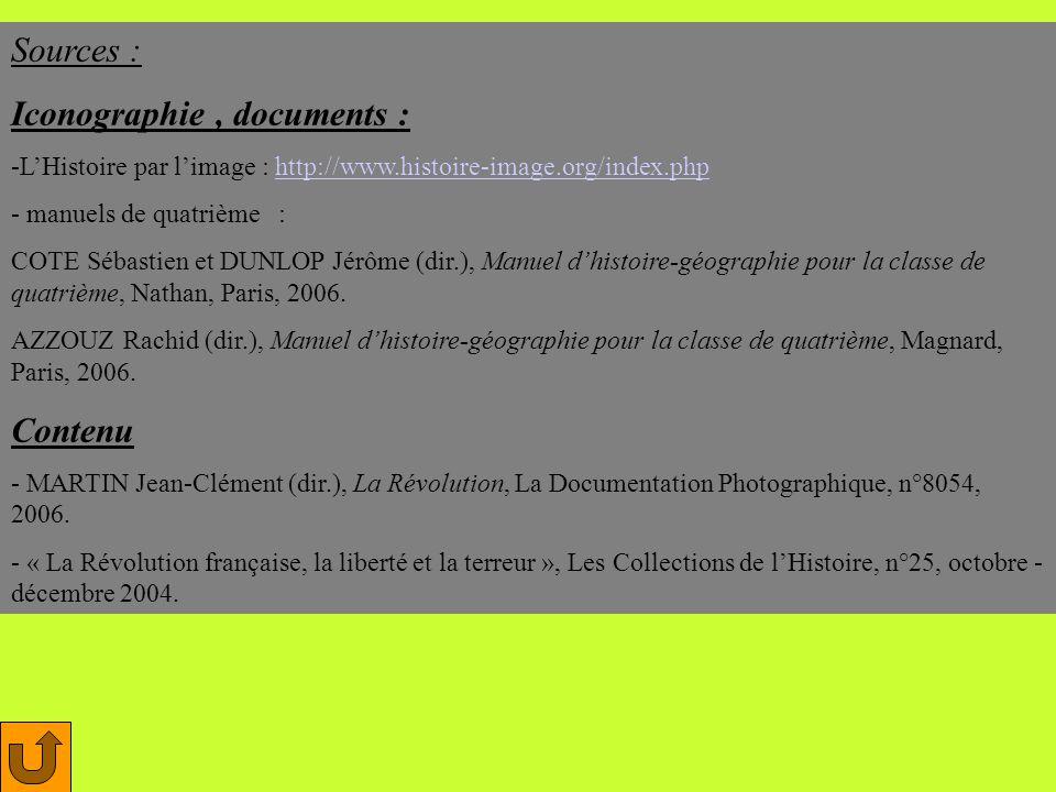 Iconographie , documents :
