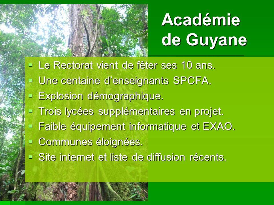 Académie de Guyane Le Rectorat vient de fêter ses 10 ans.