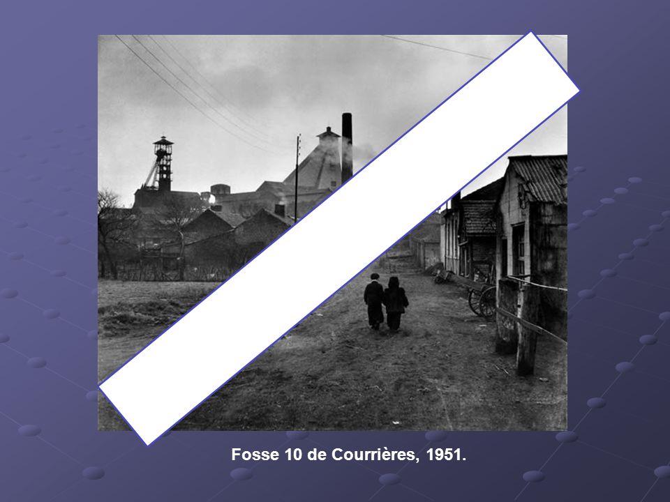 Fosse 10 de Courrières, 1951.