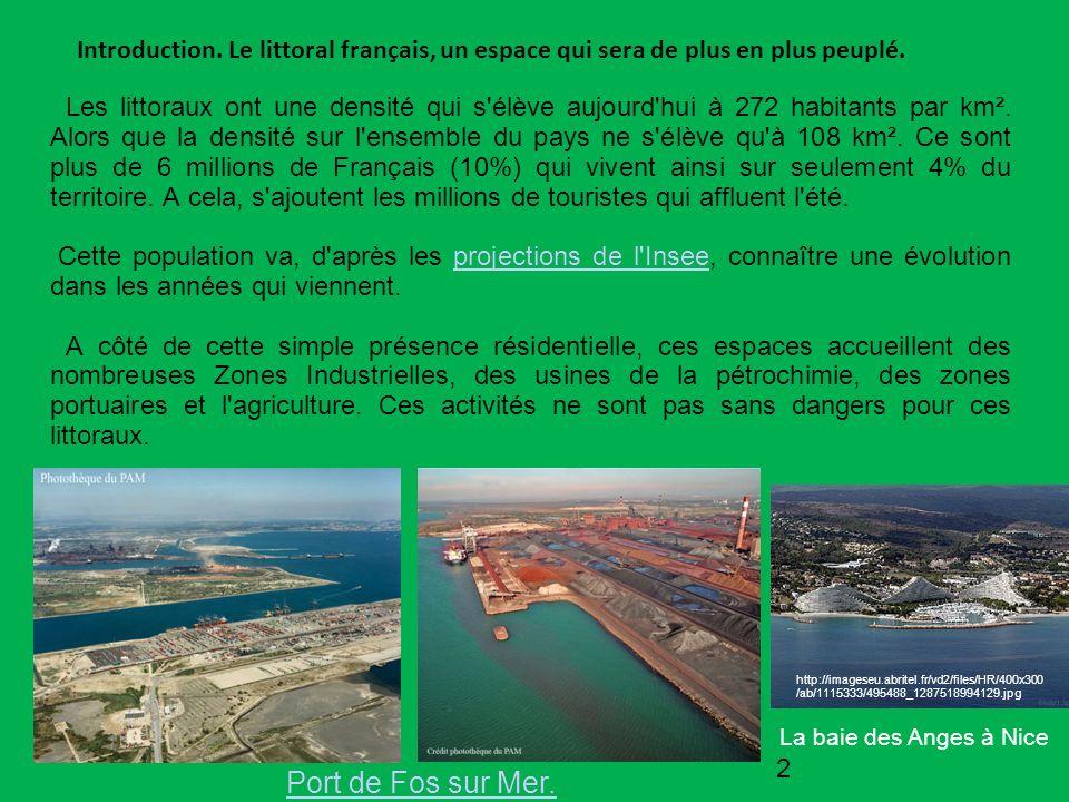 Introduction. Le littoral français, un espace qui sera de plus en plus peuplé.