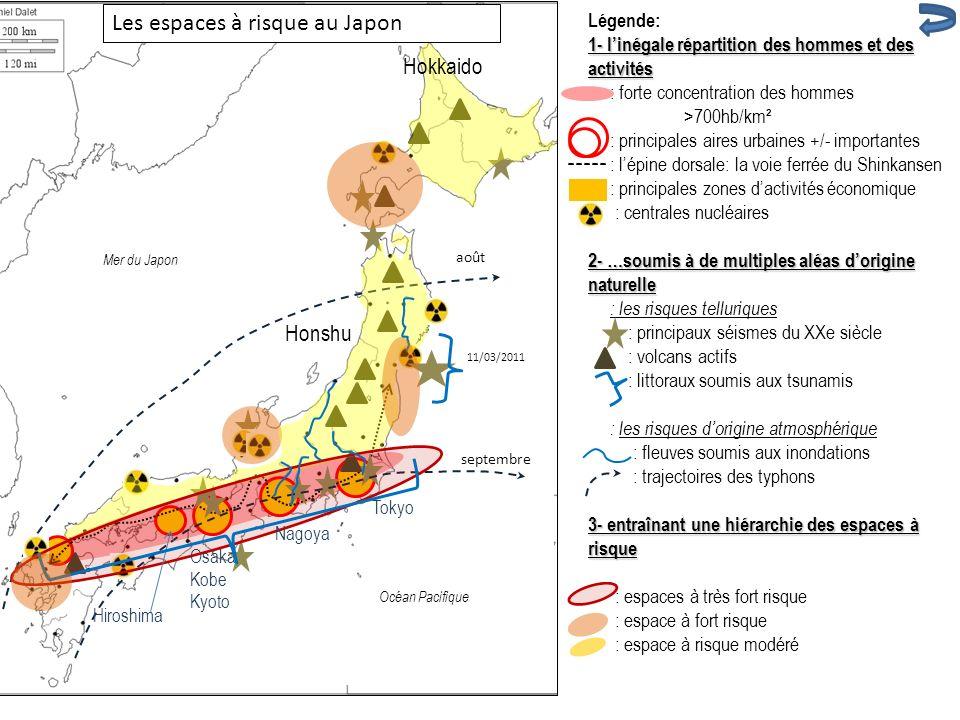 Les espaces à risque au Japon