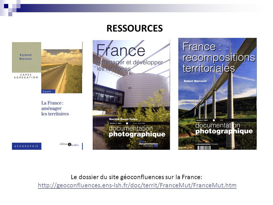 Le dossier du site géoconfluences sur la France: