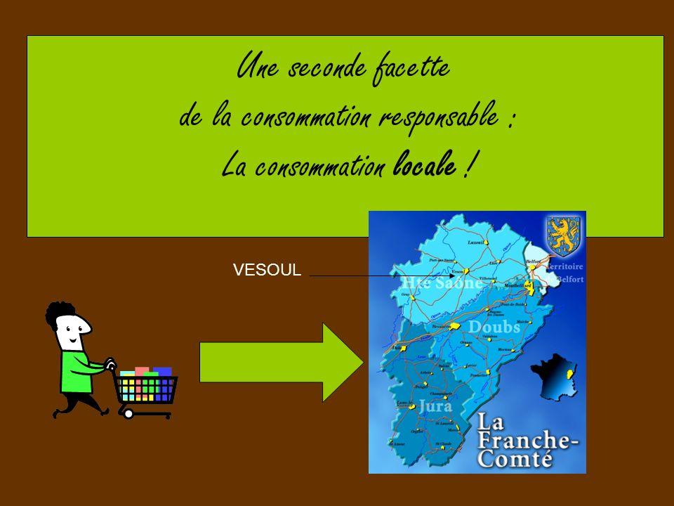 de la consommation responsable : La consommation locale !