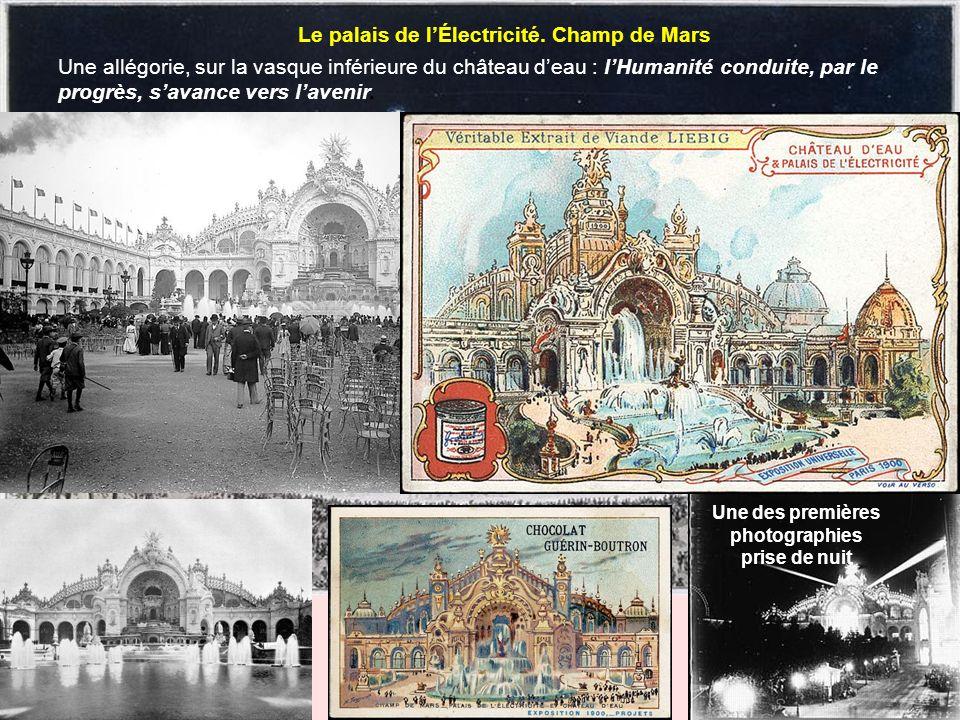 Le palais de l'Électricité. Champ de Mars
