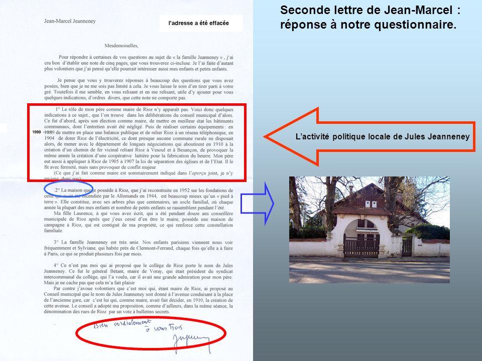 L'activité politique locale de Jules Jeanneney