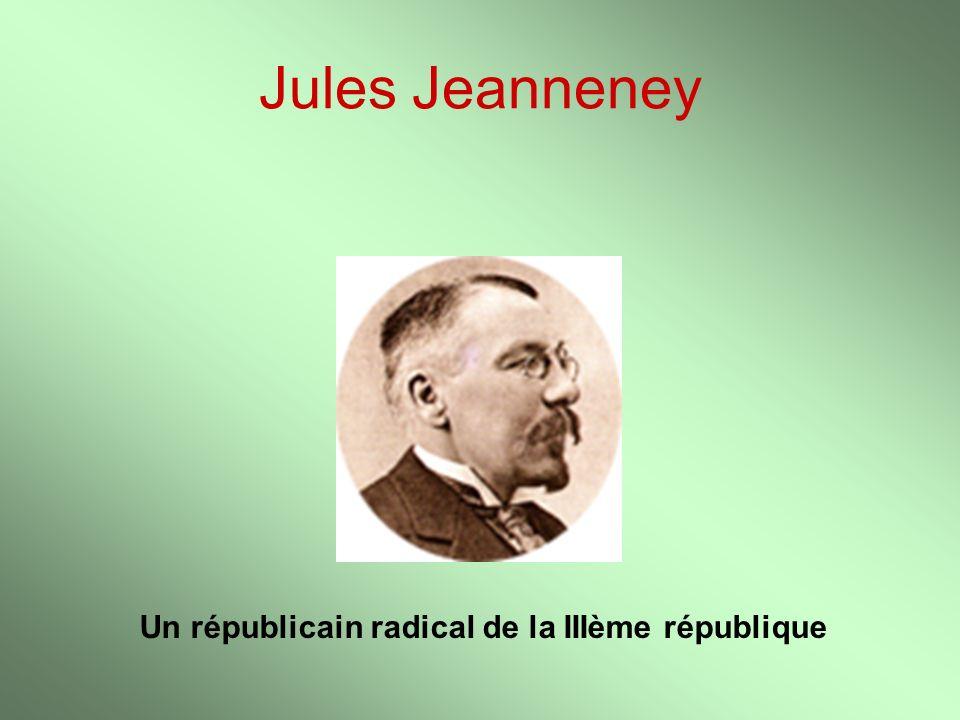 Un républicain radical de la IIIème république
