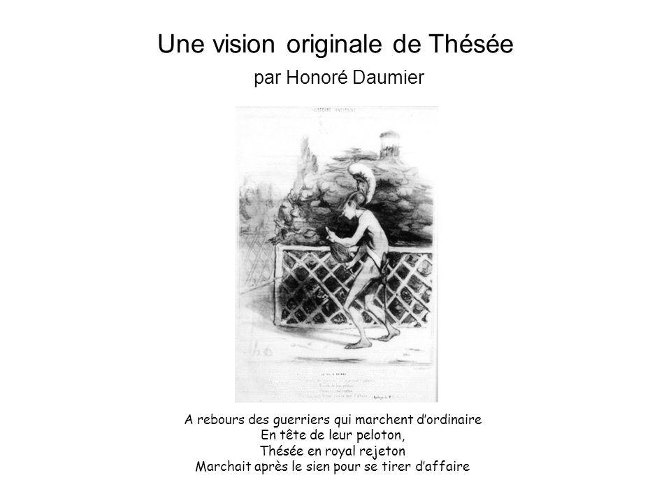 Une vision originale de Thésée par Honoré Daumier