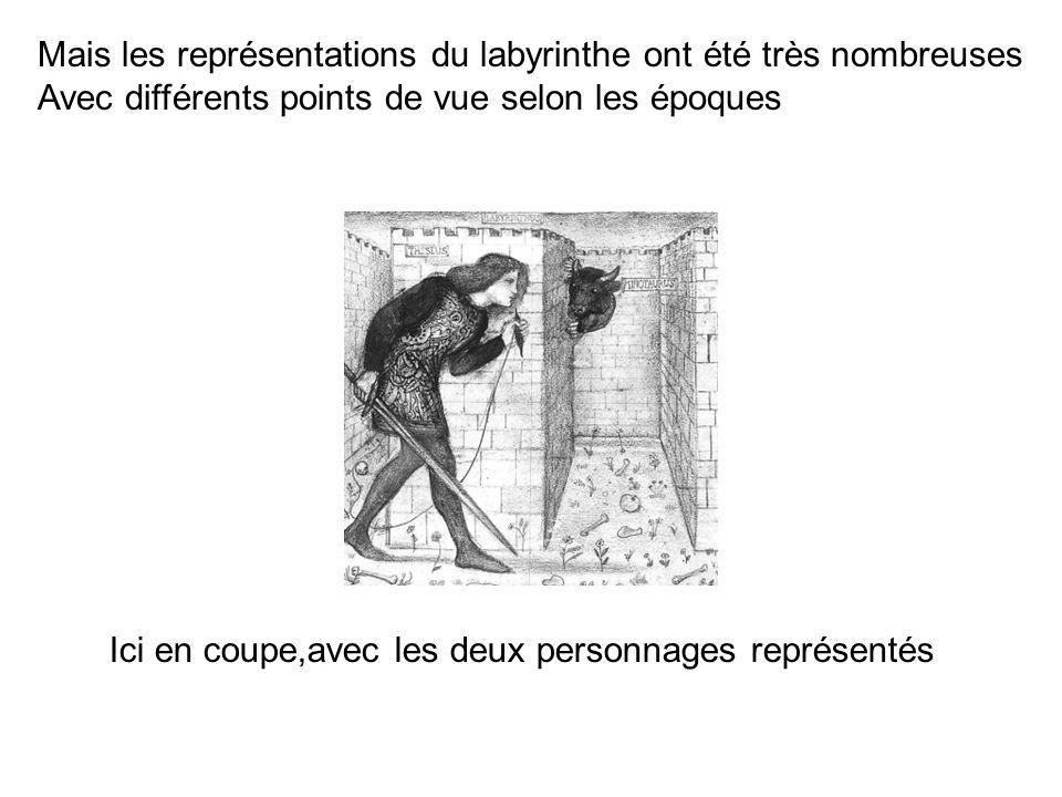 Mais les représentations du labyrinthe ont été très nombreuses