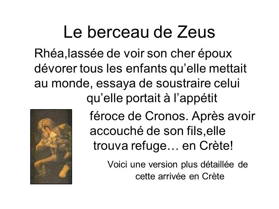 Le berceau de Zeus