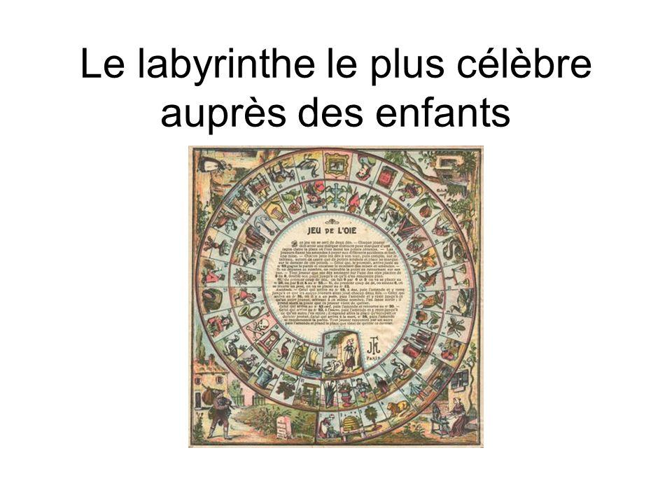 Le labyrinthe le plus célèbre auprès des enfants