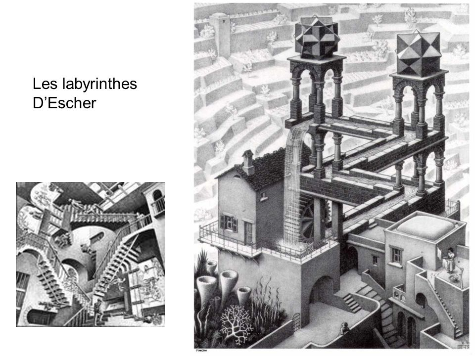 Les labyrinthes D'Escher