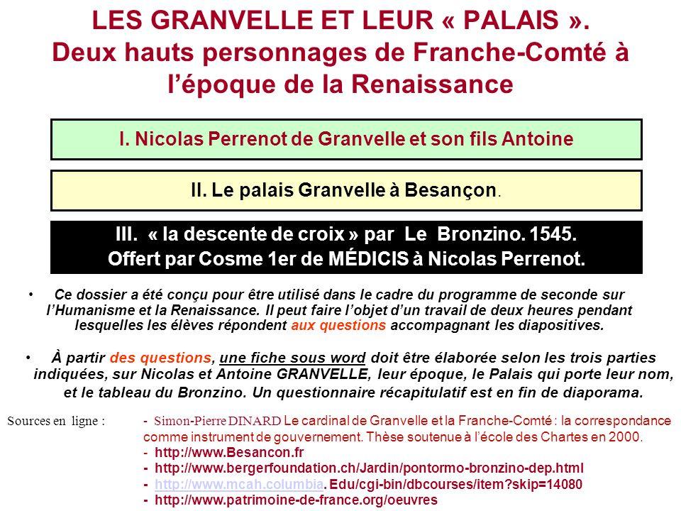 LES GRANVELLE ET LEUR « PALAIS »