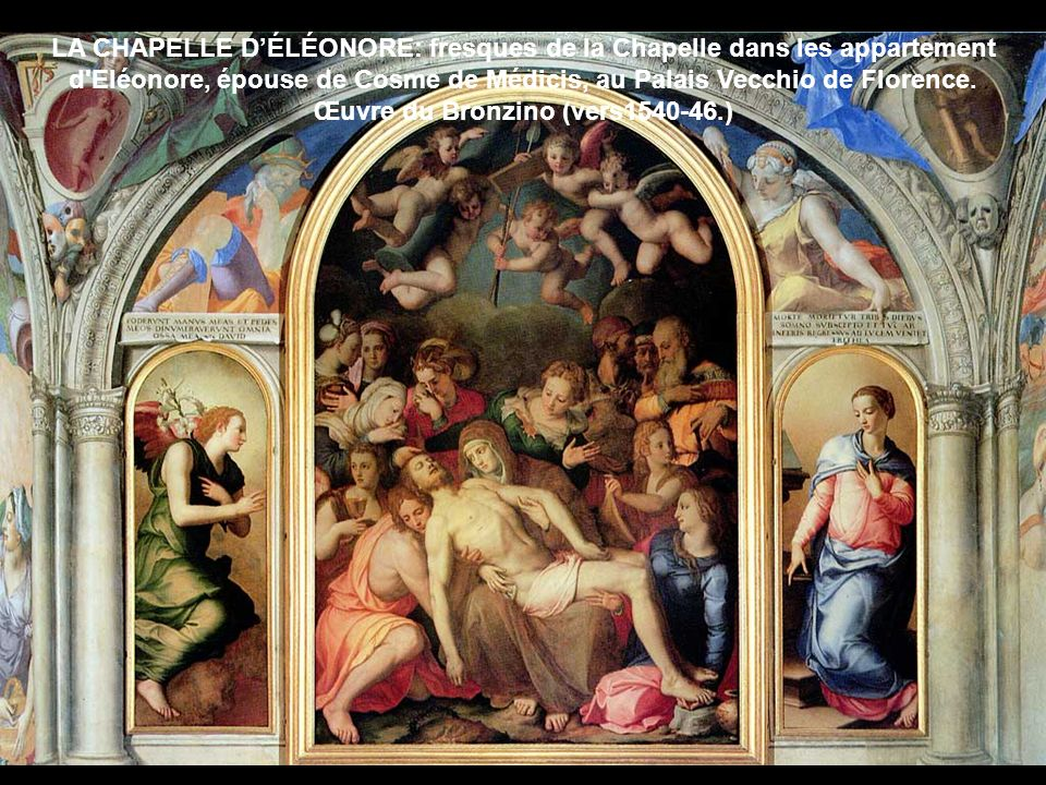 Œuvre du Bronzino (vers1540-46.)