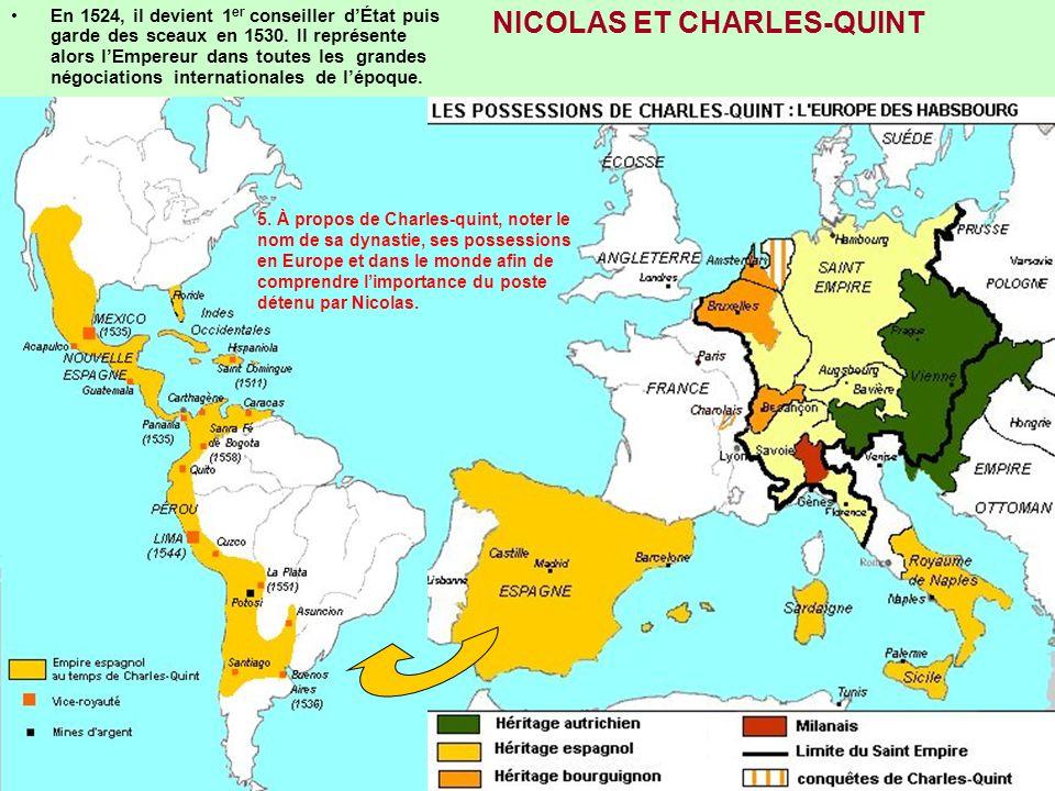 NICOLAS ET CHARLES-QUINT