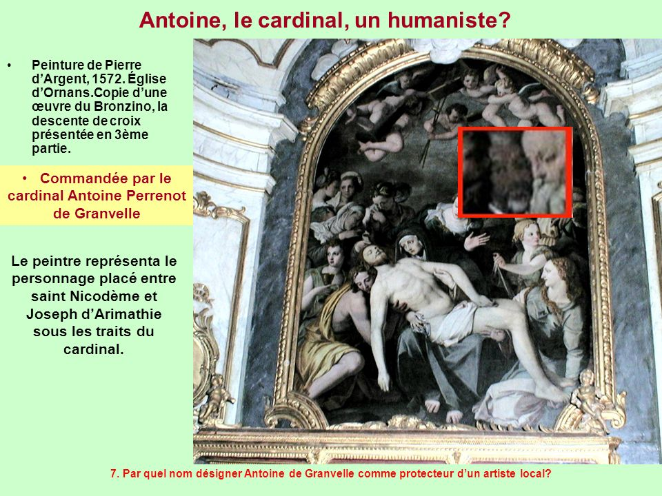 Antoine, le cardinal, un humaniste
