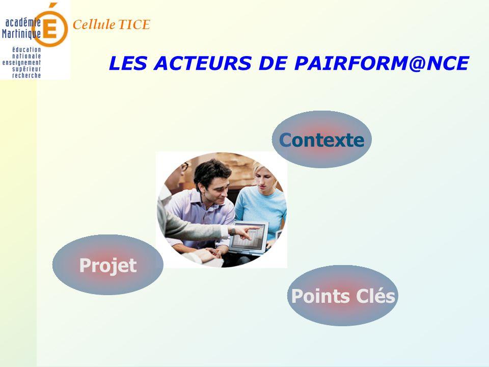 LES ACTEURS DE PAIRFORM@NCE