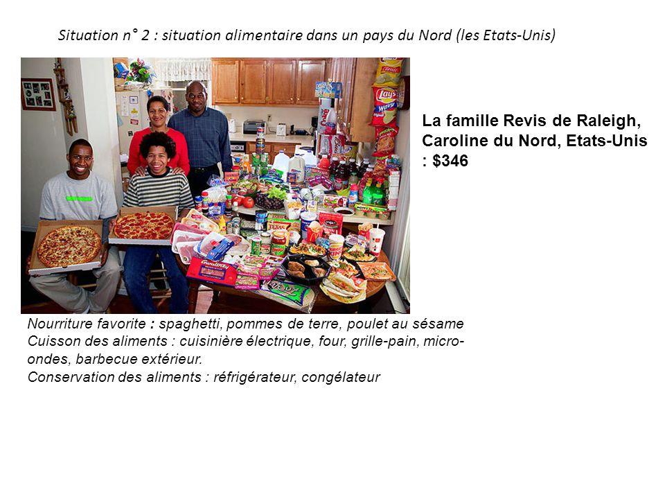 La famille Revis de Raleigh, Caroline du Nord, Etats-Unis : $346