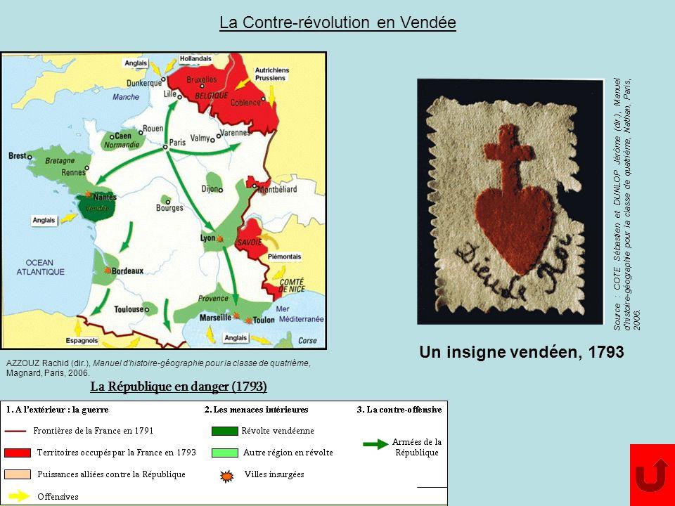 La Contre-révolution en Vendée