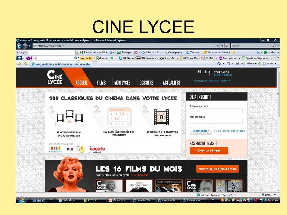 CINE LYCEE