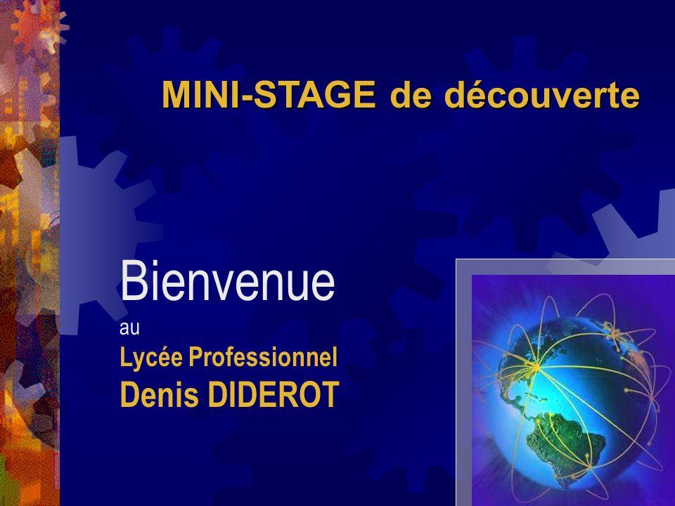 Bienvenue au Lycée Professionnel Denis DIDEROT