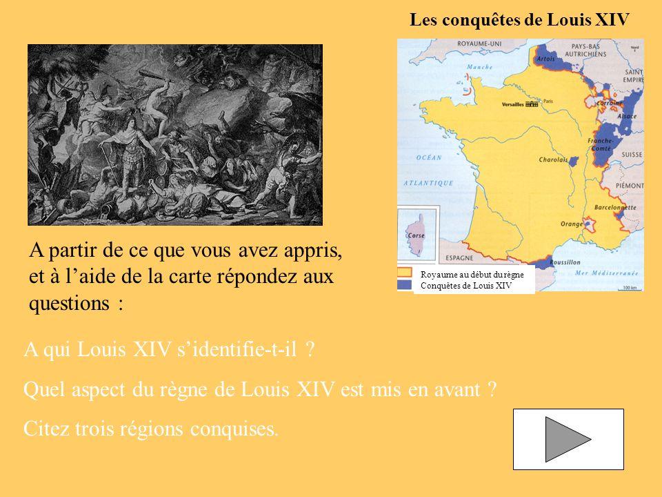 A qui Louis XIV s'identifie-t-il