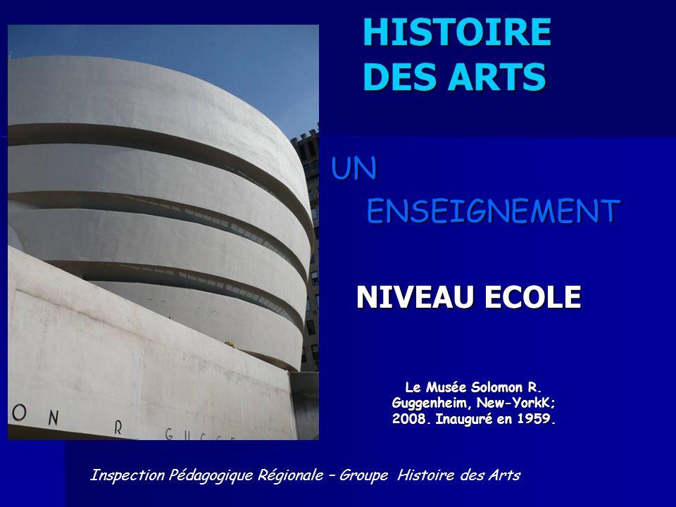 Le Musée Solomon R. Guggenheim, New-YorkK; 2008. Inauguré en 1959.