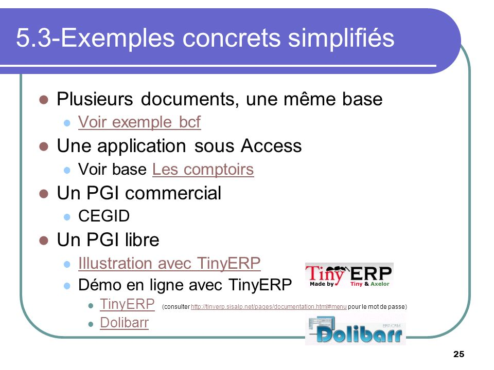 5.3-Exemples concrets simplifiés