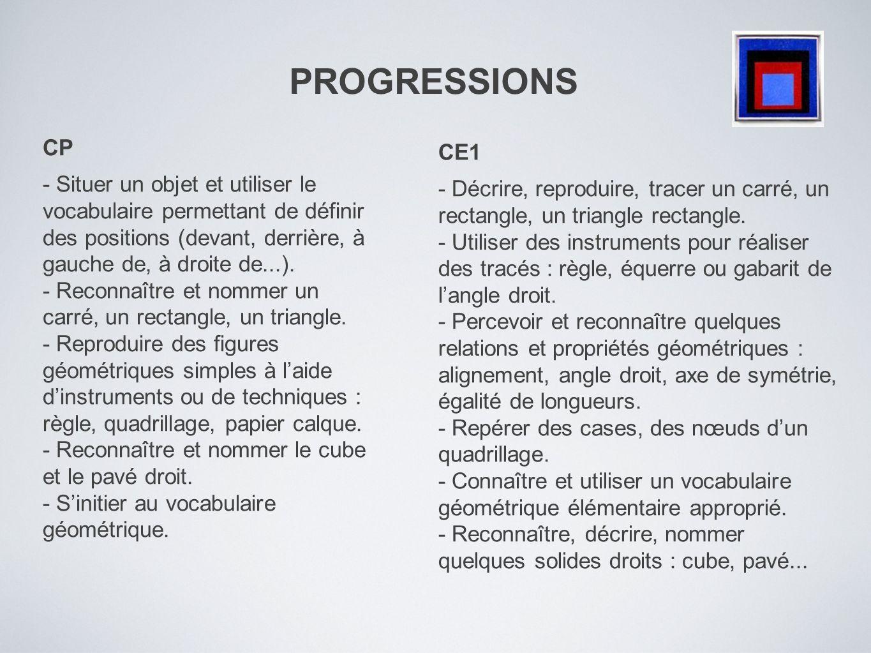 PROGRESSIONS CP.