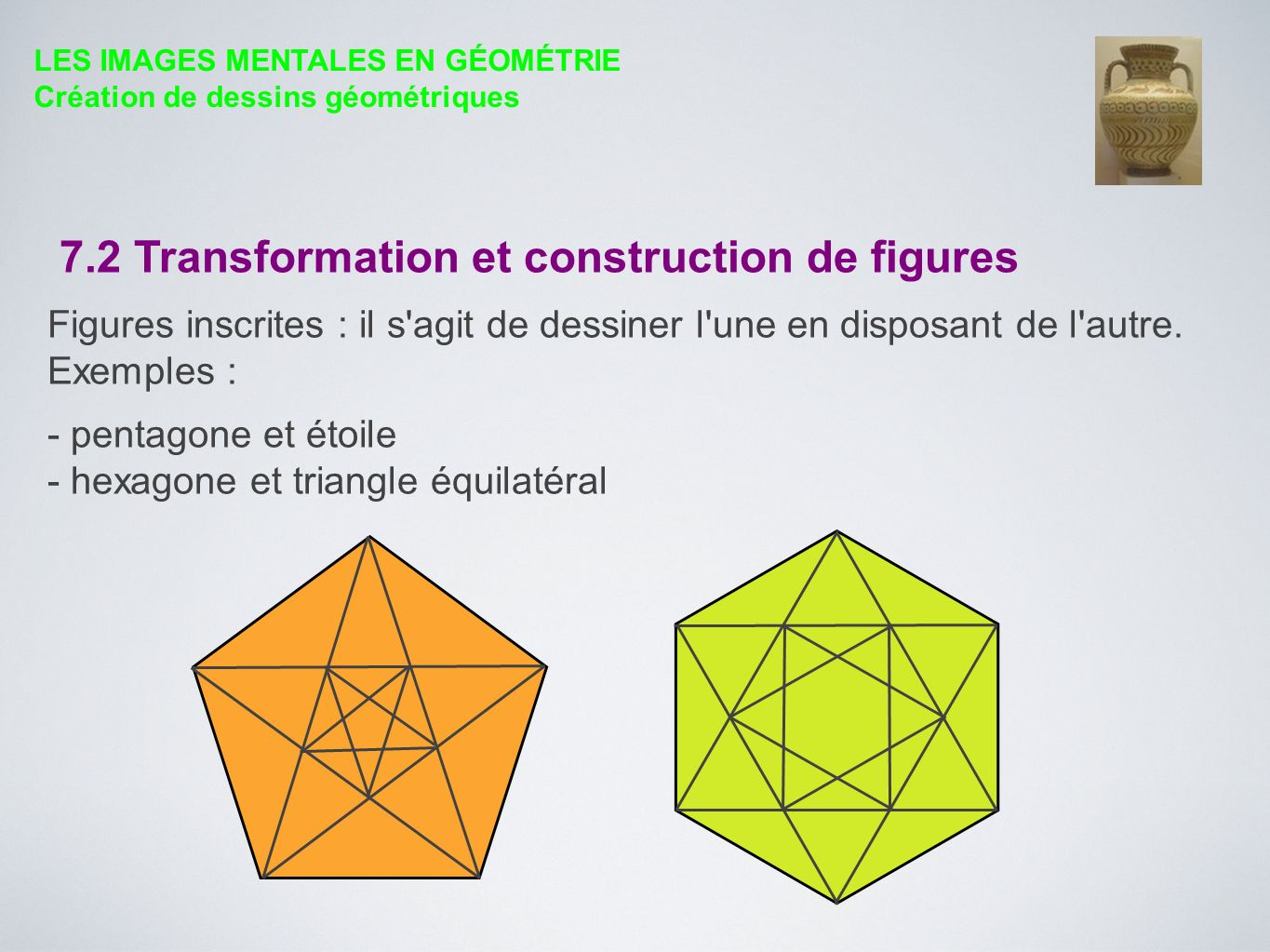 7.2 Transformation et construction de figures