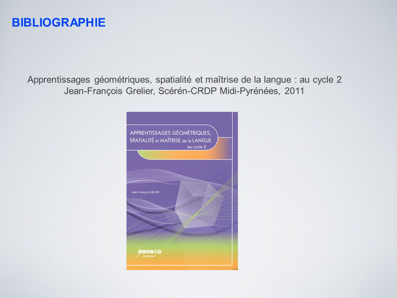 Jean-François Grelier, Scérén-CRDP Midi-Pyrénées, 2011