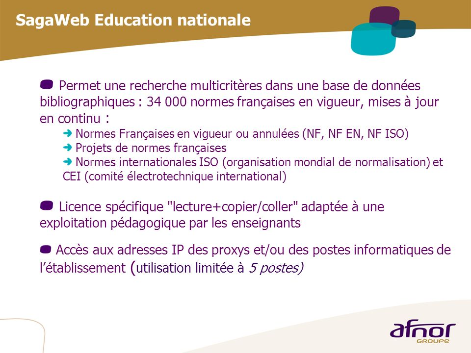 SagaWeb Education nationale