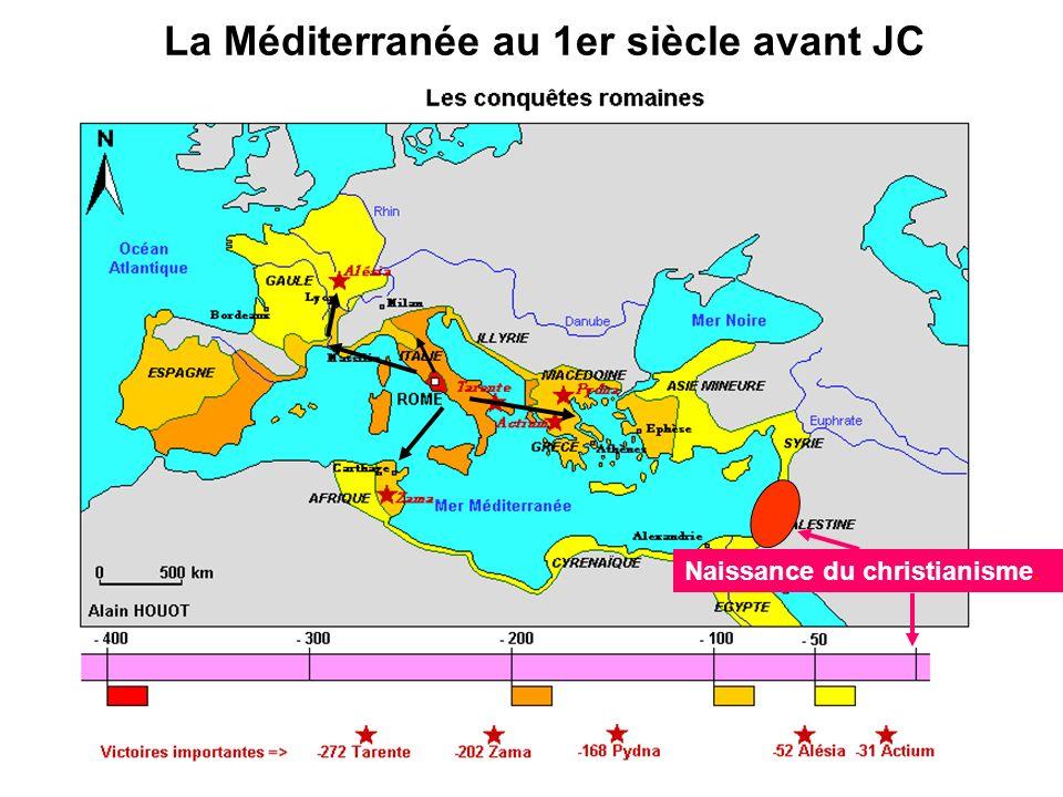 La Méditerranée au 1er siècle avant JC