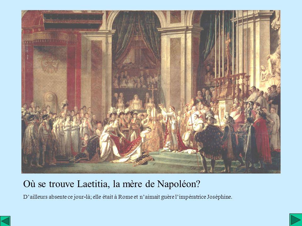 Où se trouve Laetitia, la mère de Napoléon