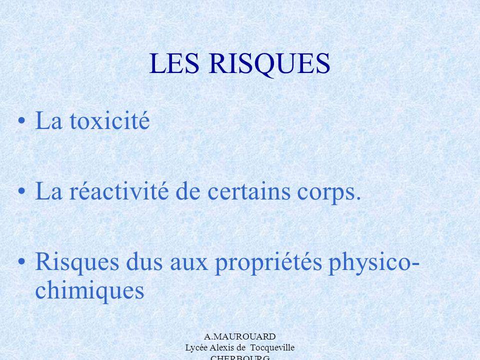 A.MAUROUARD Lycée Alexis de Tocqueville CHERBOURG