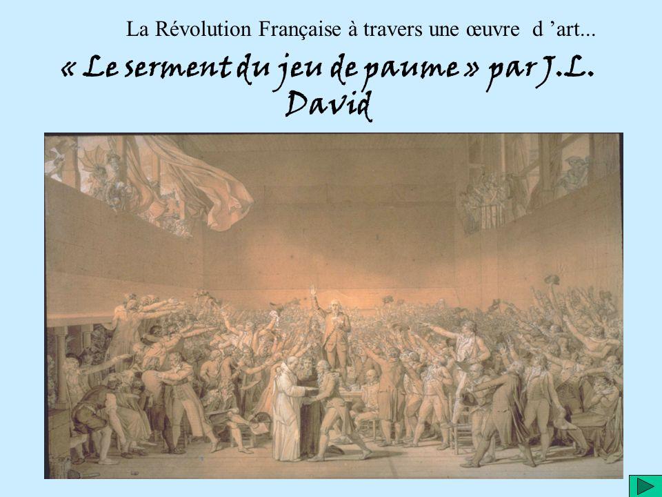 « Le serment du jeu de paume » par J.L. David