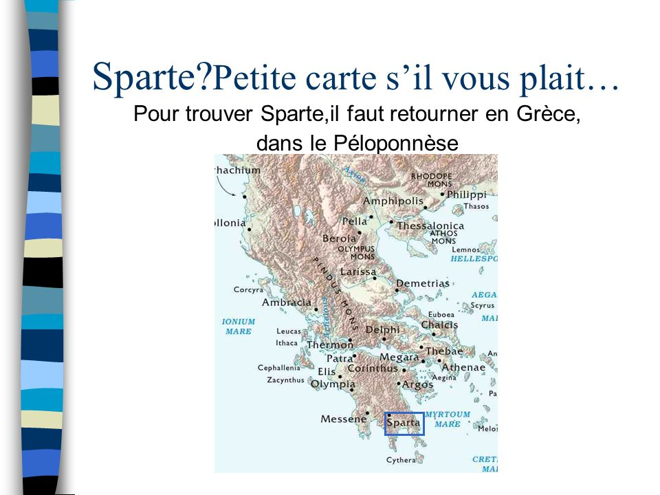 Sparte Petite carte s'il vous plait…