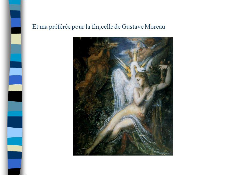 Et ma préférée pour la fin,celle de Gustave Moreau