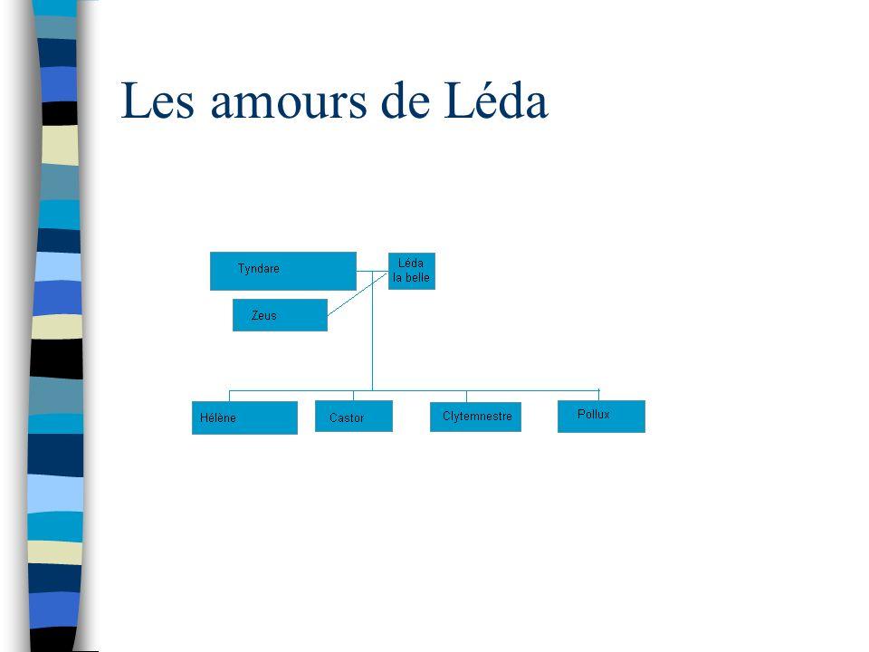 Les amours de Léda