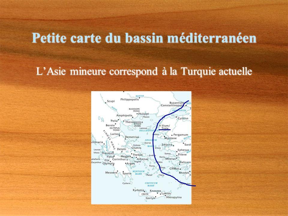Petite carte du bassin méditerranéen