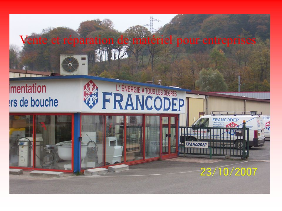 Francodep Vente et réparation de matériel pour entreprises