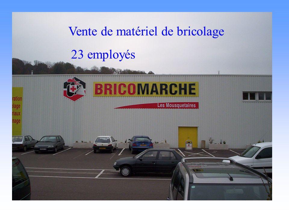 bricomarché Vente de matériel de bricolage 23 employés