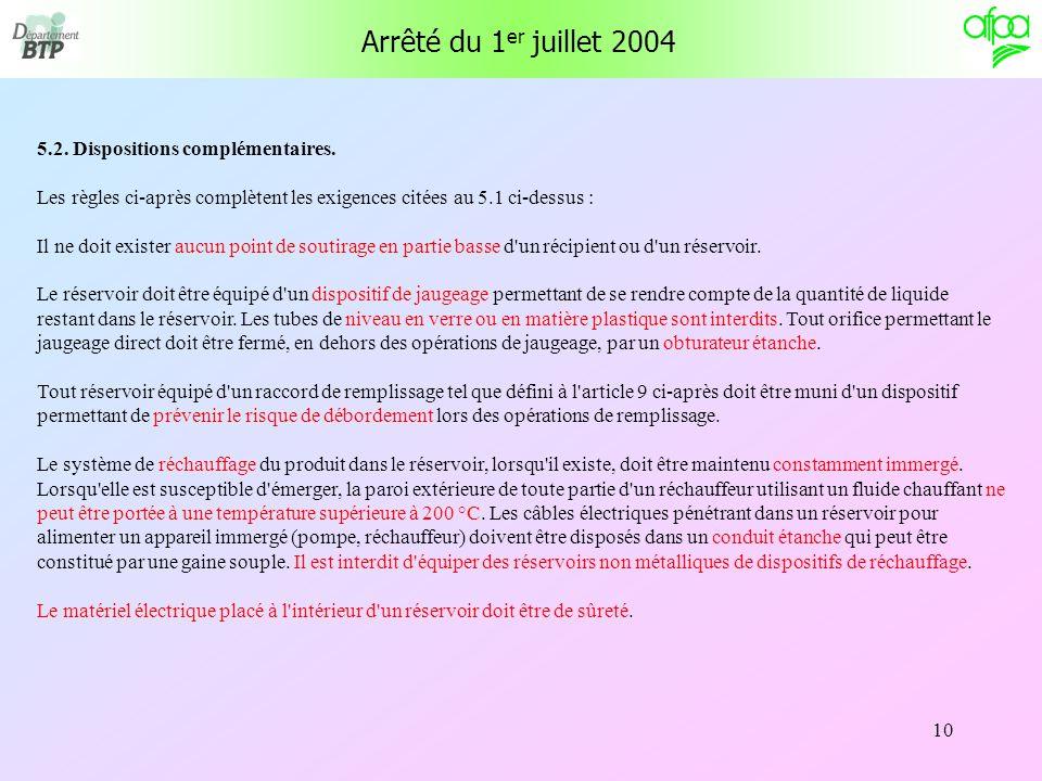 Arr t du 1er juillet 2004 fixant les r gles techniques et - A quelle temperature doit etre un congelateur ...