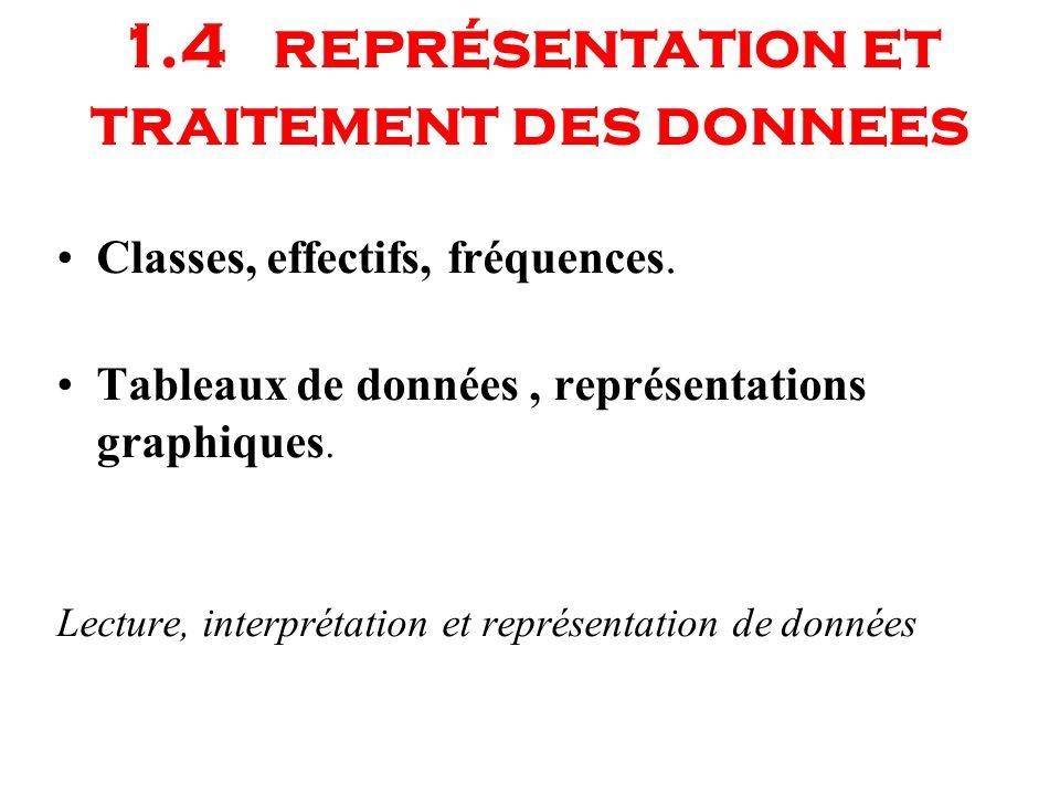 1.4 représentation et traitement des donnees