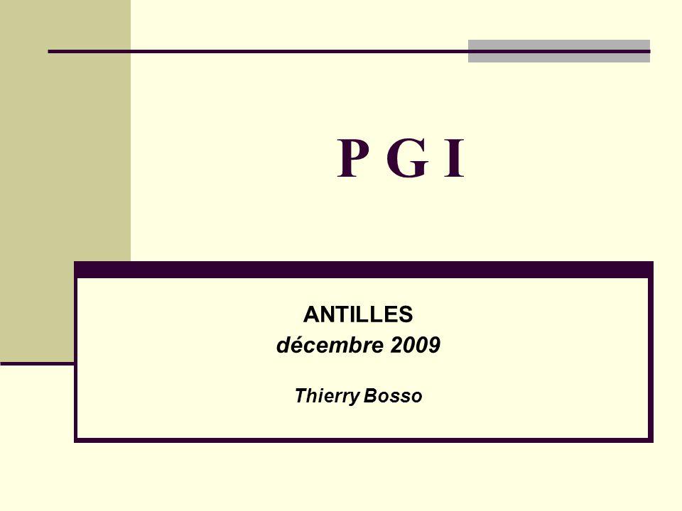 ANTILLES décembre 2009 Thierry Bosso