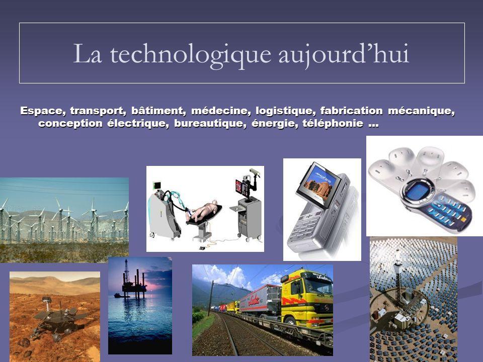La technologique aujourd'hui