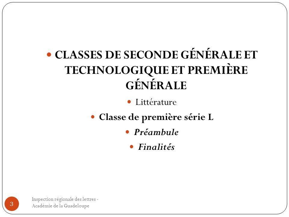 CLASSES DE SECONDE GÉNÉRALE ET TECHNOLOGIQUE ET PREMIÈRE GÉNÉRALE