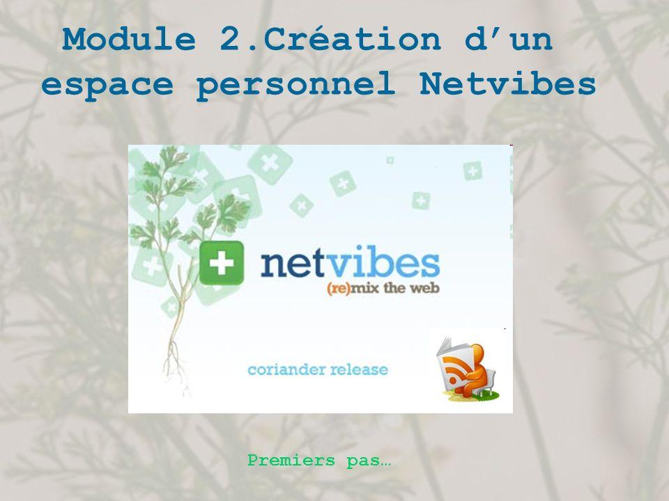 espace personnel Netvibes