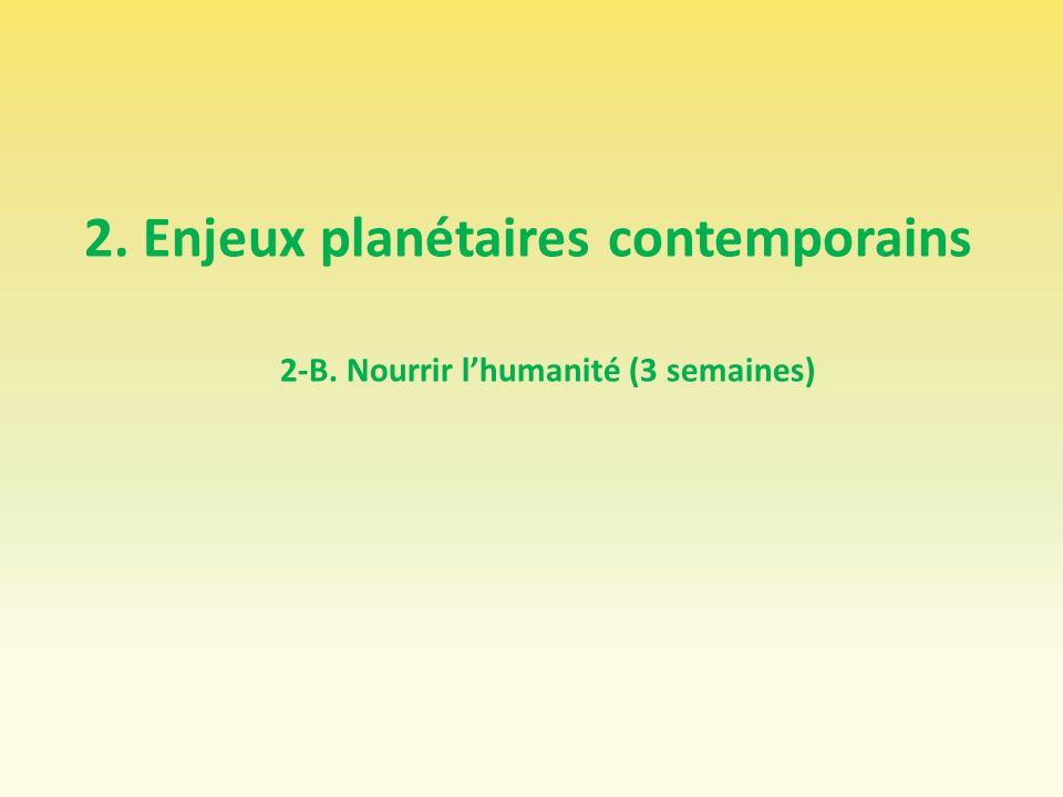 2. Enjeux planétaires contemporains