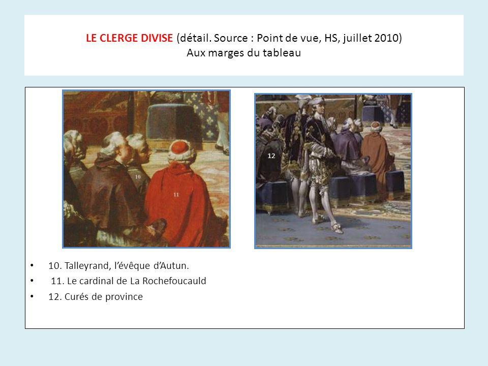 LE CLERGE DIVISE (détail