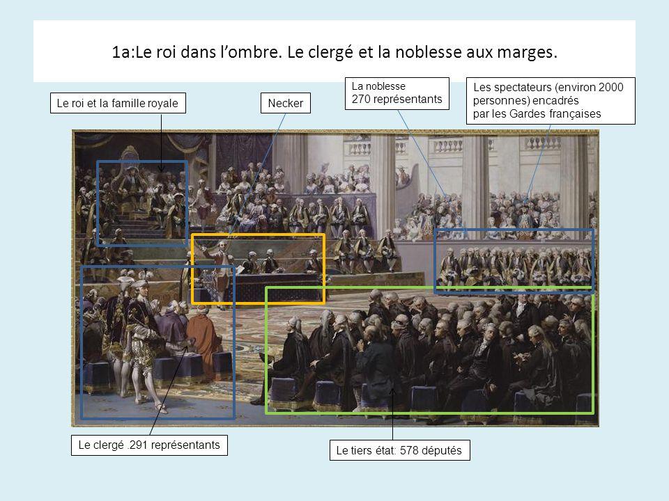 1a:Le roi dans l'ombre. Le clergé et la noblesse aux marges.